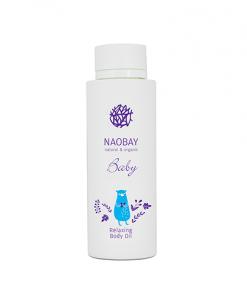 Aceite corporal calmante baby Naobay