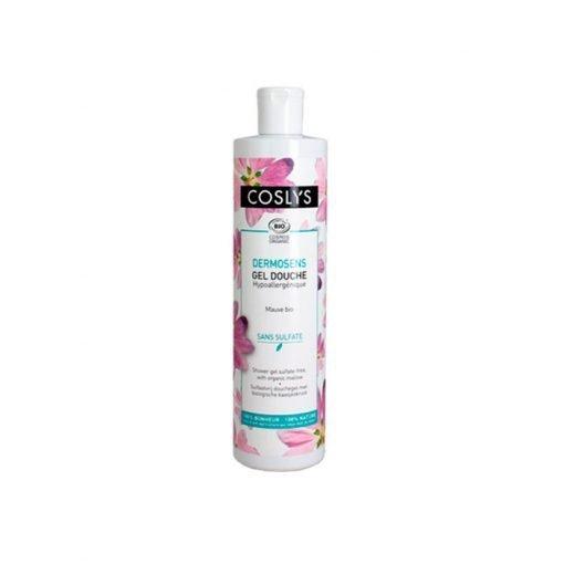 Gel de ducha sin sulfatos malva blanca Coslys