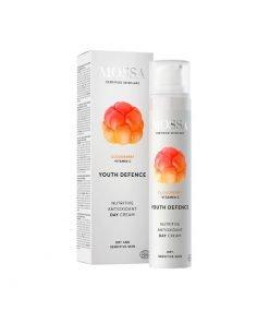 Crema de día nutritiva antioxidante Youth Defence Mossa