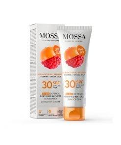 Crema facial SPF 30 Mossa