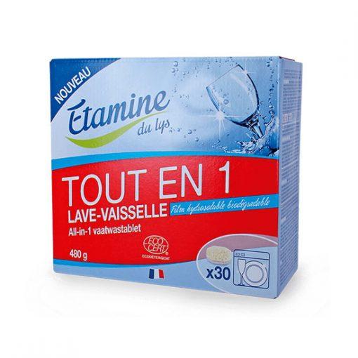 Pastillas lavavajillas todo en uno Etamine du Lys