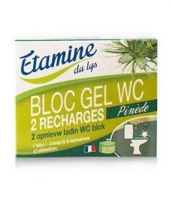 Recarga gel desinfectante inodoro en bloque x2 Etamine du Lys